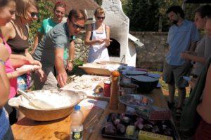 Kovacsszenaja pravljenje pizze